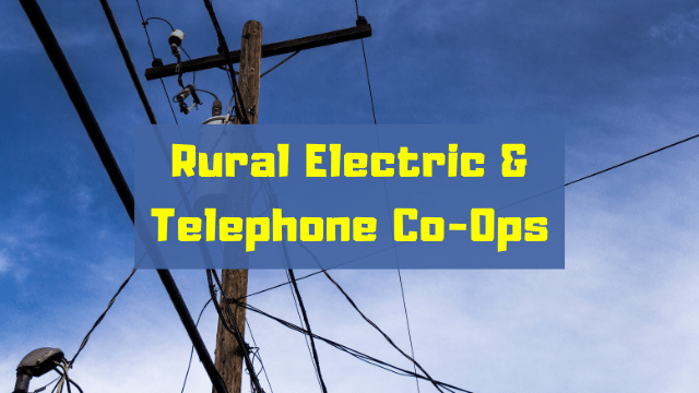 Rural, Electric Co-Ops