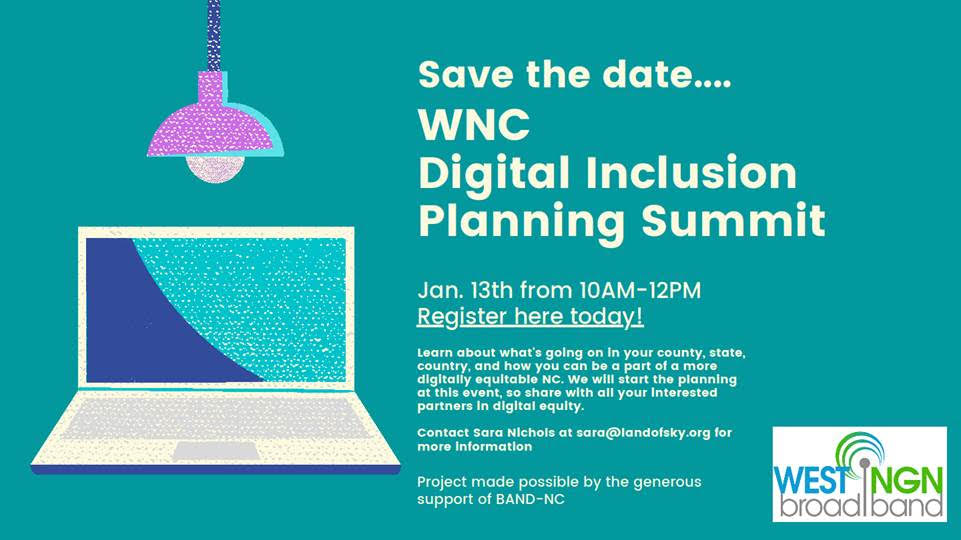 WNC Digital Inclusion Planning Summit