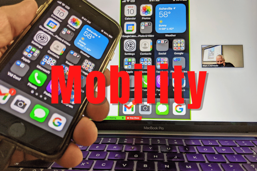 Smartphone Laptop Mobility