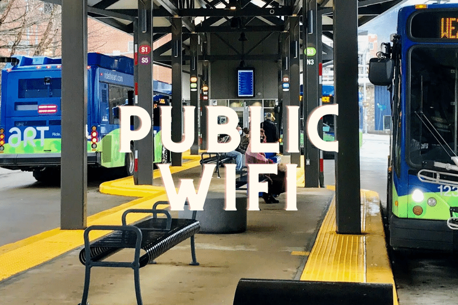 Asheville ART Bus Station Free Public WiFi