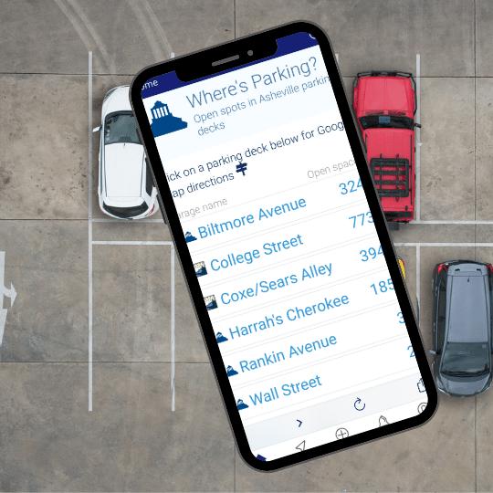 Asheville App - Where's Parking