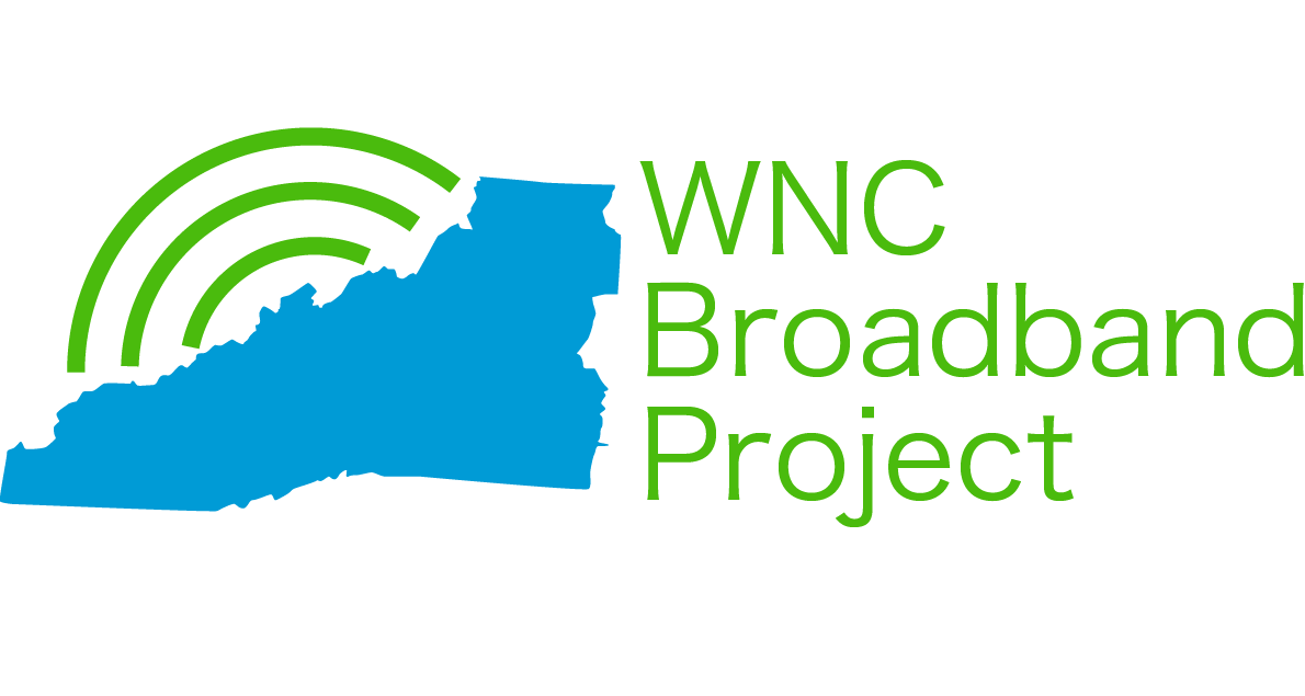 WNC Broadband Project Logo Image and Link